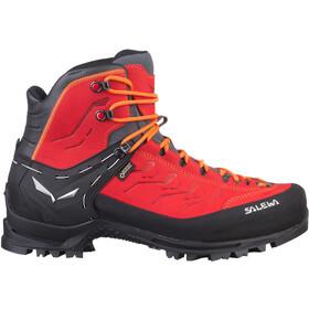 SALEWA Rapace GTX Zapatillas de senderismo Hombre, rojo/negro